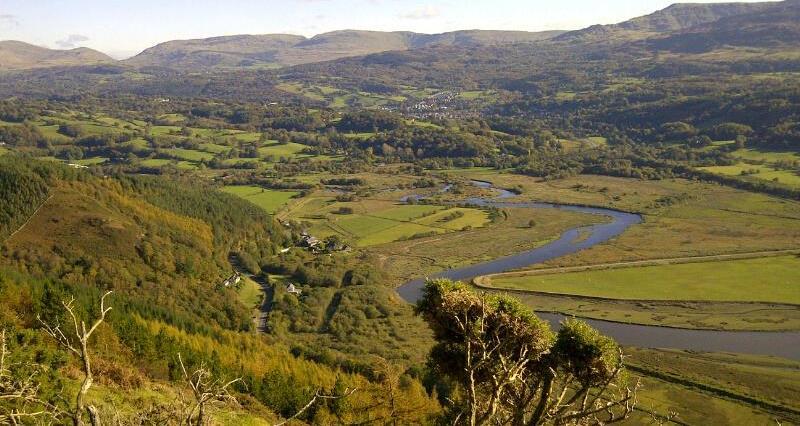 Mawddach North Wales landscape_46288