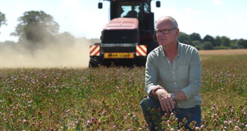 John Pawsey reflects on the NFU Organic Forum