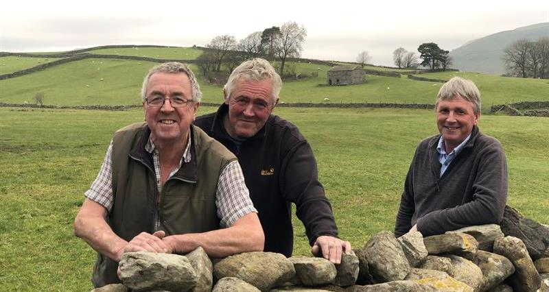 The Metcalfe brothers on their Wensleydale farm_59006