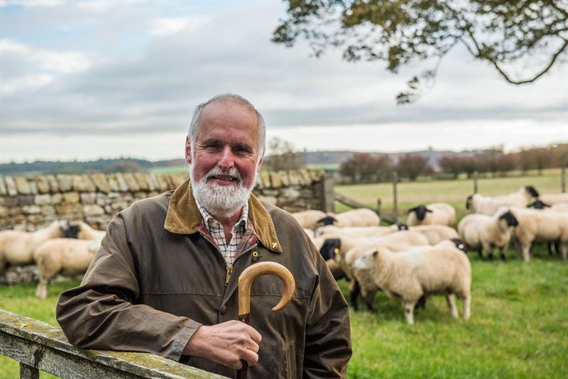 Northumberland sheep farmer, Hans Porksen_60315