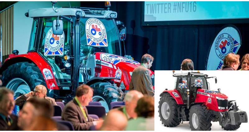 red tractor at NFU16_33038