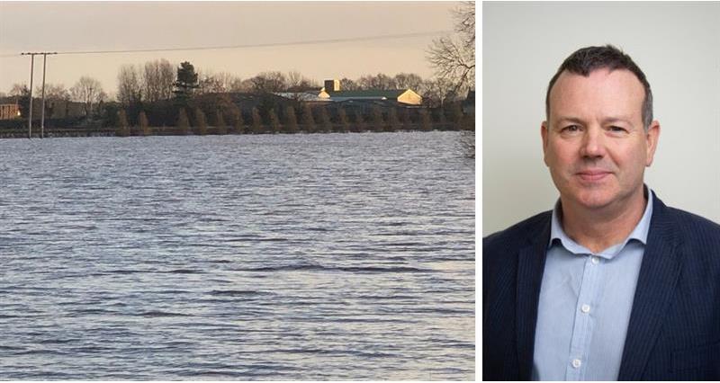 NFU's involvement in developing farmland flood resistance