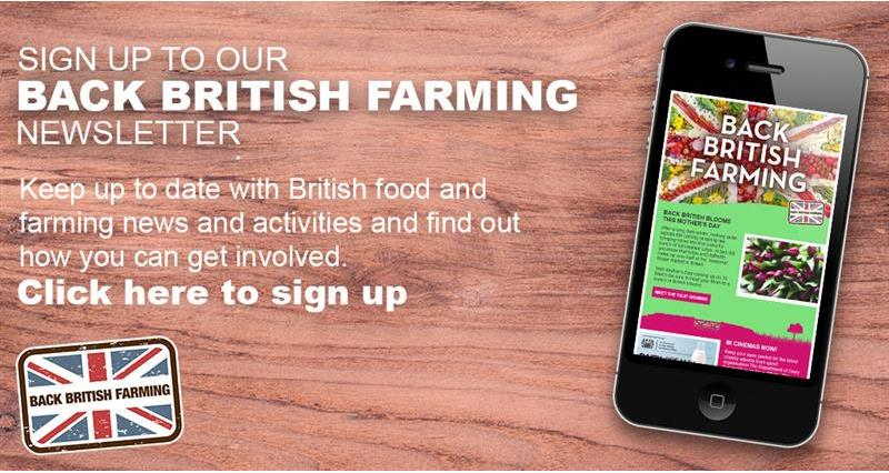 Back British Farming newsletter sign up advert_64976