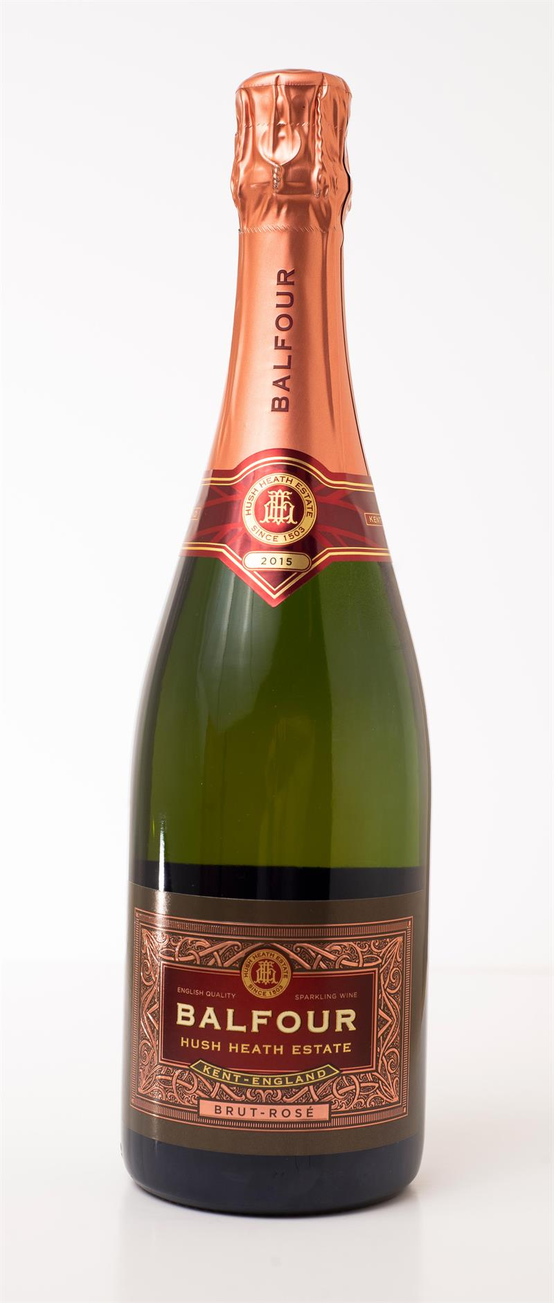 Hush Heath Wine Estate Balfour Brut Rosé 2015_70924