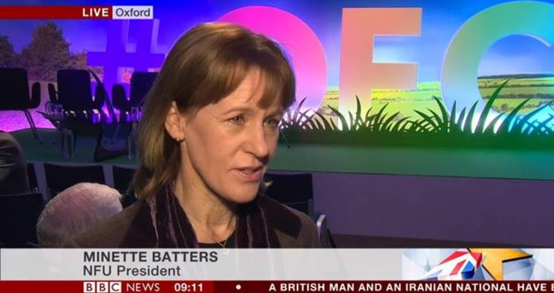 Minette Batters - BBC interview - OFC 2019_59538