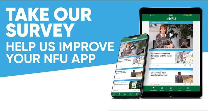 NFU App survey: We want your views