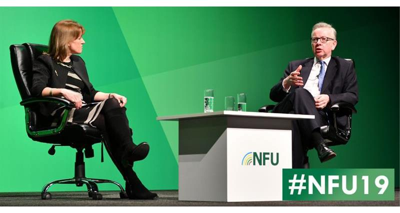 Minette Batters and Michael Gove - NFU19_61112