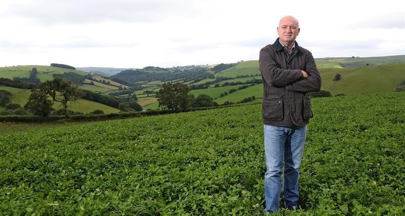 John Davies in a field_69531