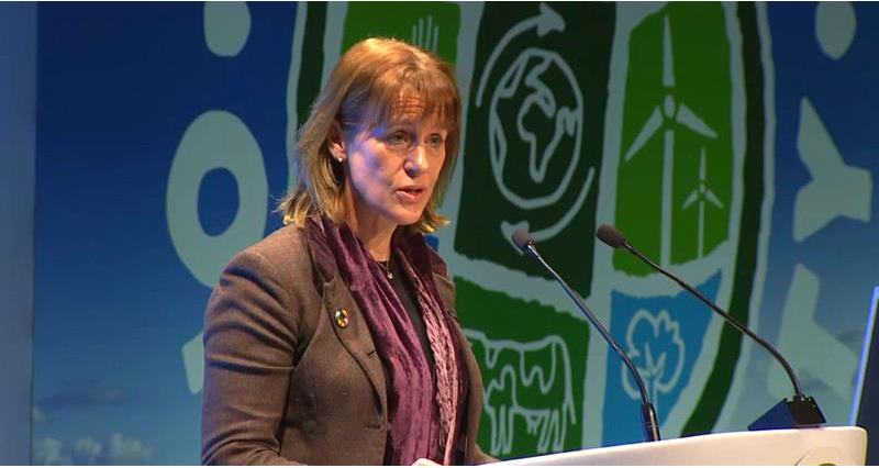 Minette Batters speaking at the Oxford Farming Conference 2019_59541