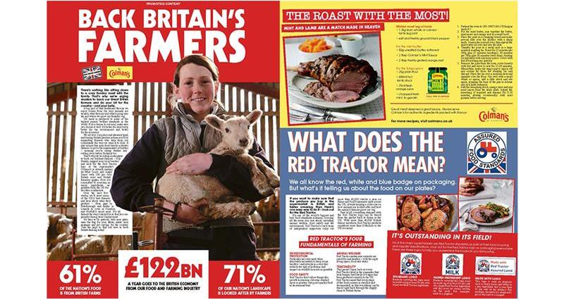 Colman's advertorial in The Sun_70342