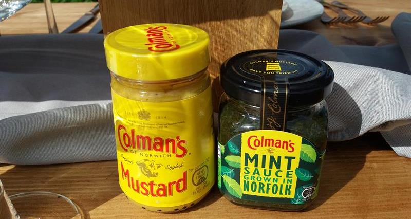 Colman's mustard and mint sauce_70368