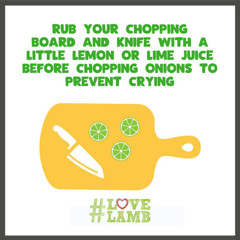 Lamb cooking tips - chopping board_68278