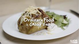 AHDB campaign - Ordinary food is good enough_72003