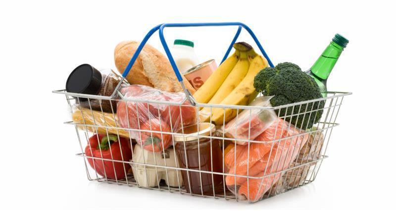 Shopping basket full of food - web crop_59496