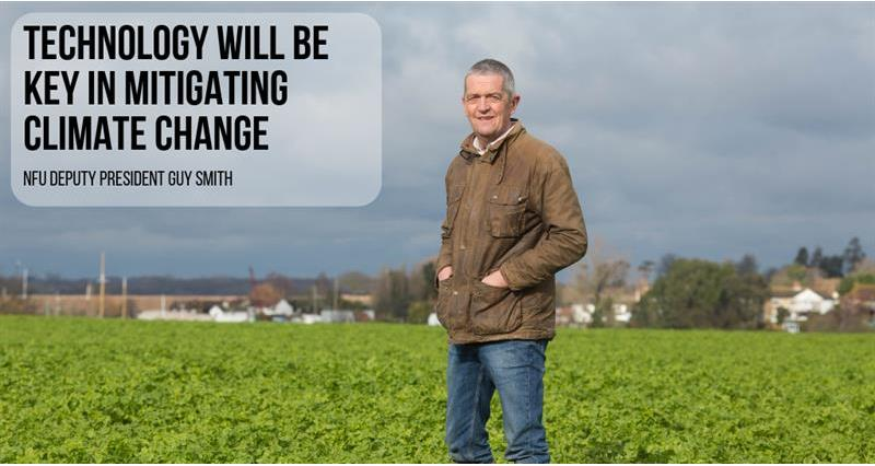 Technology will be key in mitigating climate change, NFU says