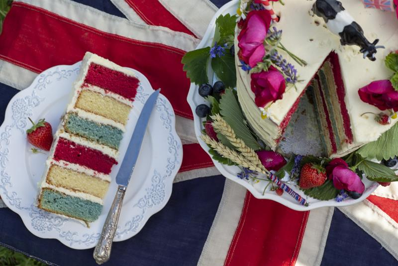Back British Farming cake
