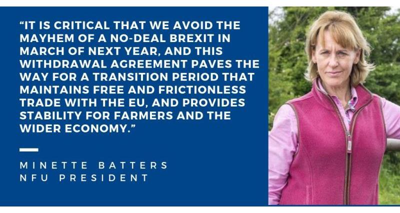 Minette Batters - Brexit deal_58578