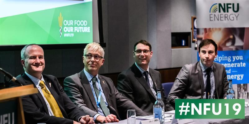 Tim Pratt, Dr Jonathan Scurlock, Oli Coe and Jon Swain - NFU19_61144
