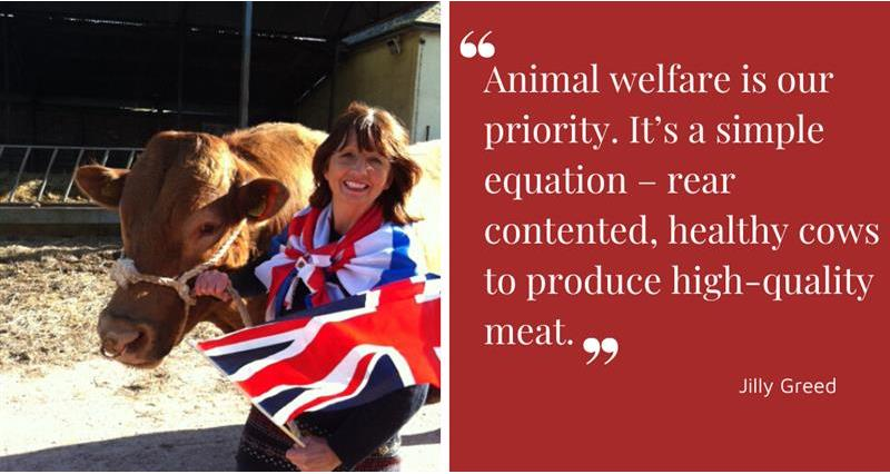 Jilly Greed quote on animal welfare_70705