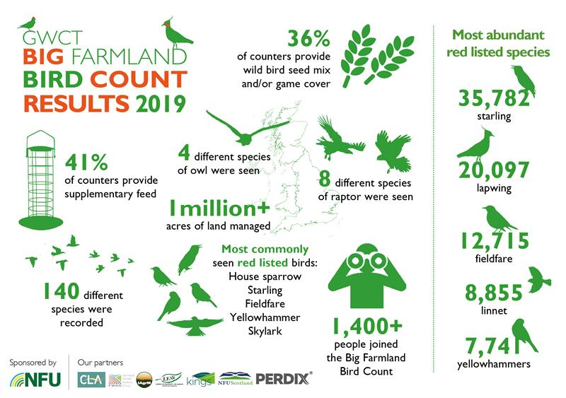 2019 Big Farmland Bird Count results infographic_63360