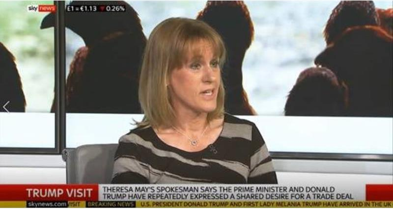 Minette Batters on Sky news - Trump visit and trade welfare standards_65357
