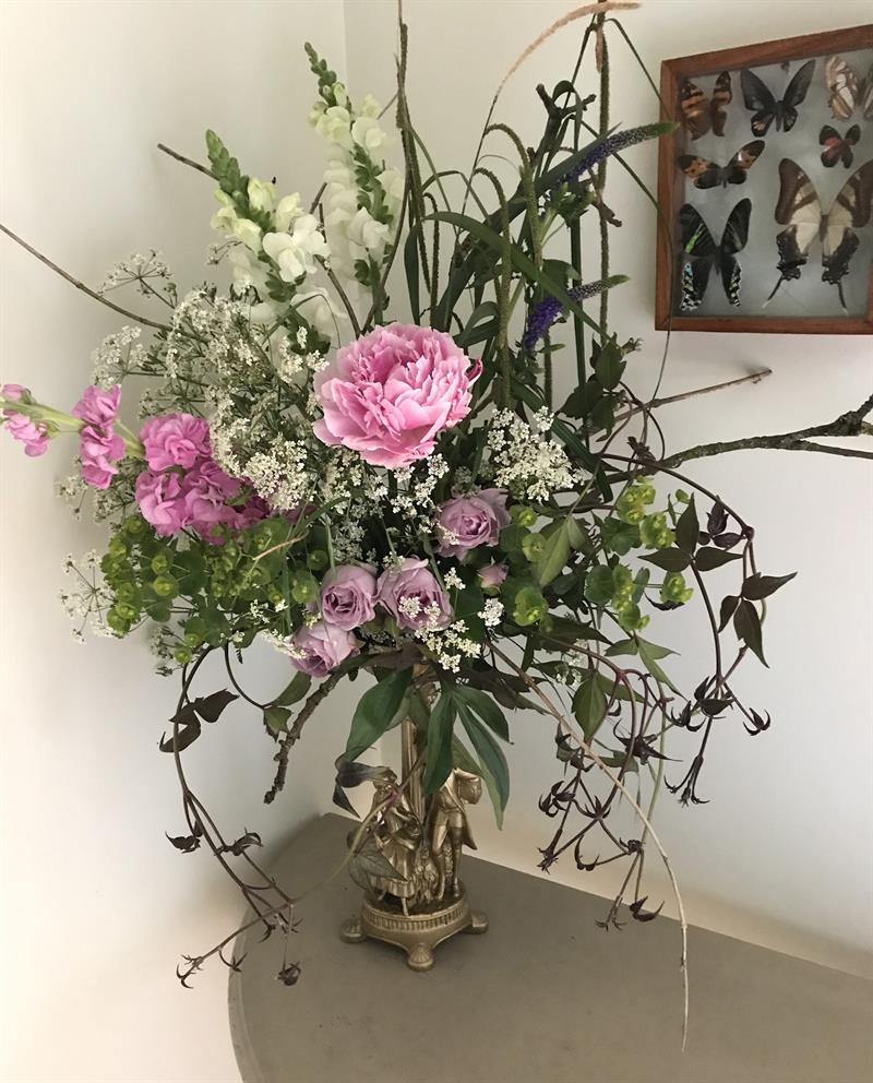 Make your own flower arrangement