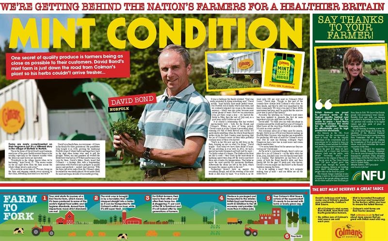 Colman's advertorial in The Sun_70338