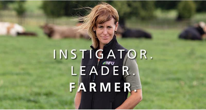 A message to all farmers and growers from NFU President Minette Batters