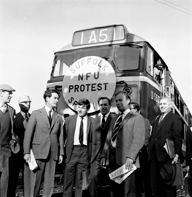 NFU Suffolk protest 1965_73538