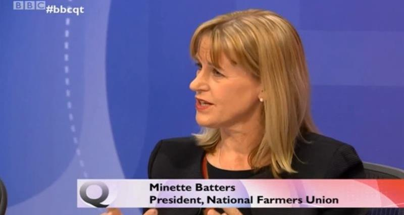 NFU media coverage on food standards and trade