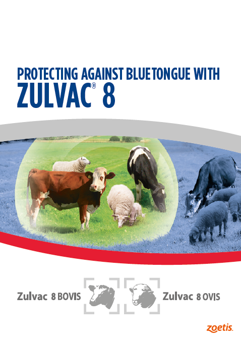 Zoetis Zulvac leaflet cover