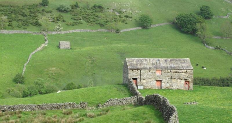 Barns in Swaledale_35298