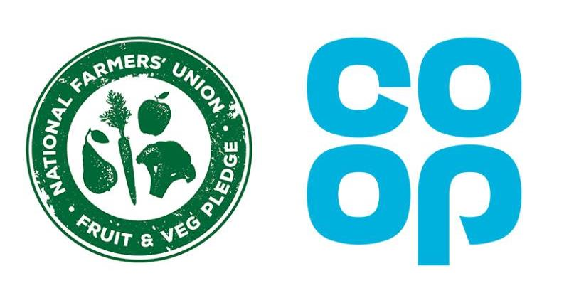Co-op commits to NFU Fruit and Veg Pledge