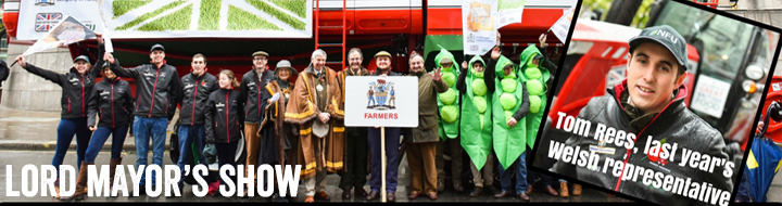 NFU Cymru scroller - Lord Mayor's Show_44371