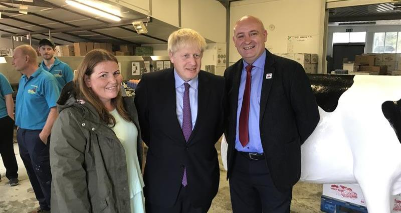 Prime Minister's visit to Welsh family farm