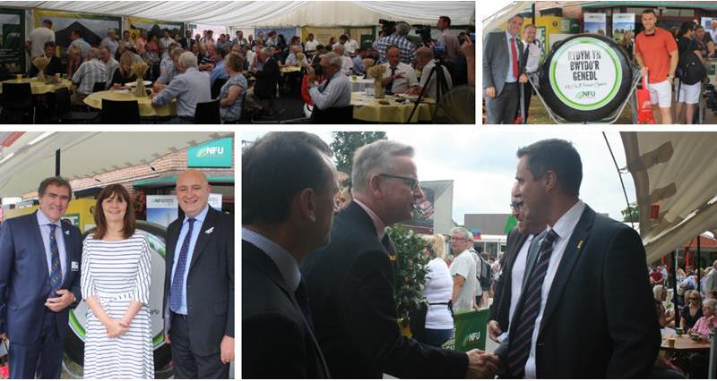 NFU Cymru at the Royal Welsh Show 2019