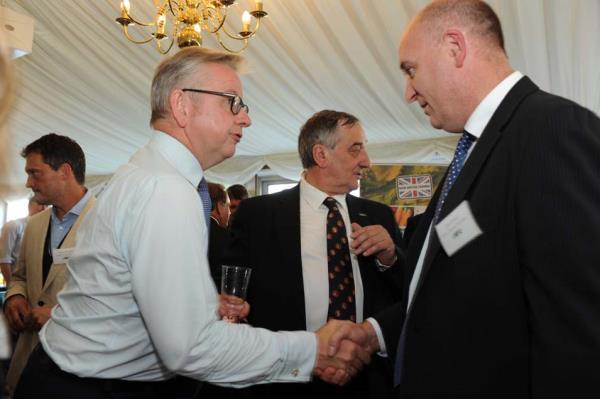 John Davies with Michael Gove_44679