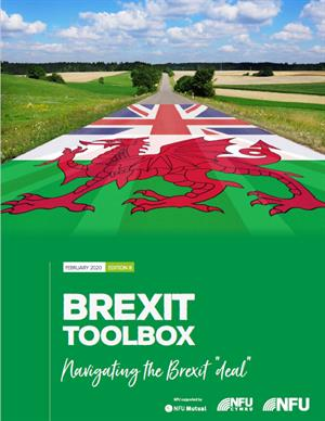 NFU Cymru Brexit toolbox cover