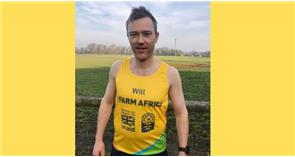 Podcasting farmer takes on the London Marathon for Farm Africa