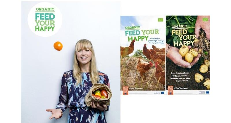 Organic Feed Your Happy Campaign