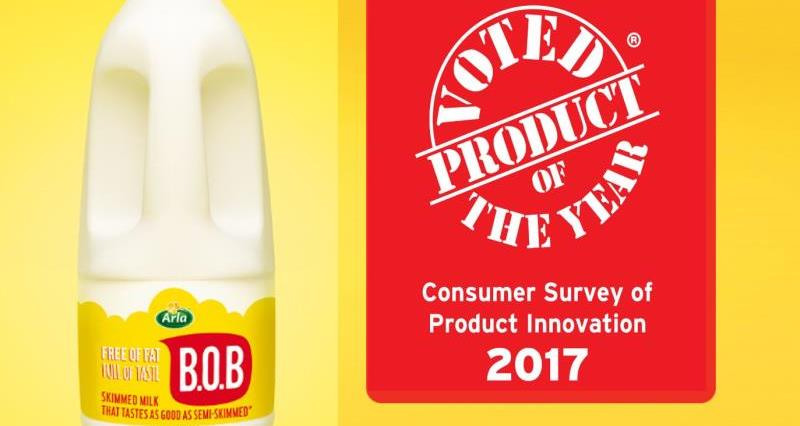 Arla triumphs at Product of the Year Awards