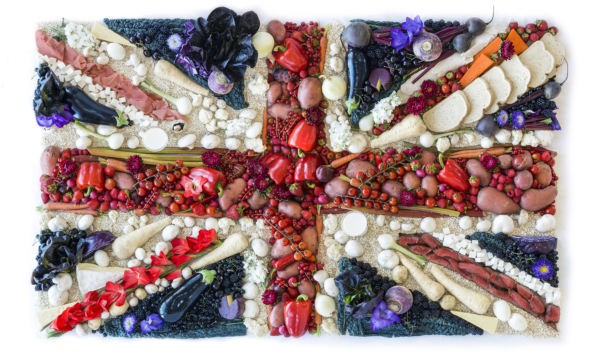 Great British Food Flag