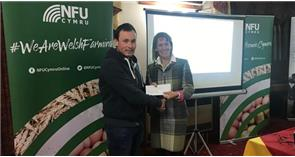 Pembrokeshire agriculture student presented with W Rees Owen Memorial Award