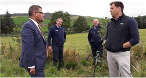 Farm visit provides SoS with an insight into Welsh farming's net zero emission ambitions