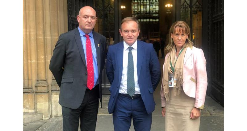 John Davies, George Eustice and Minette Batters _69325