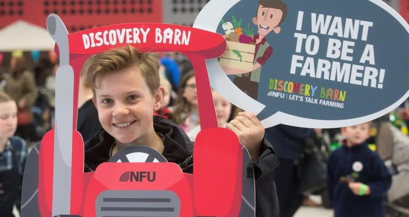 NFU launches new Discovery Barn