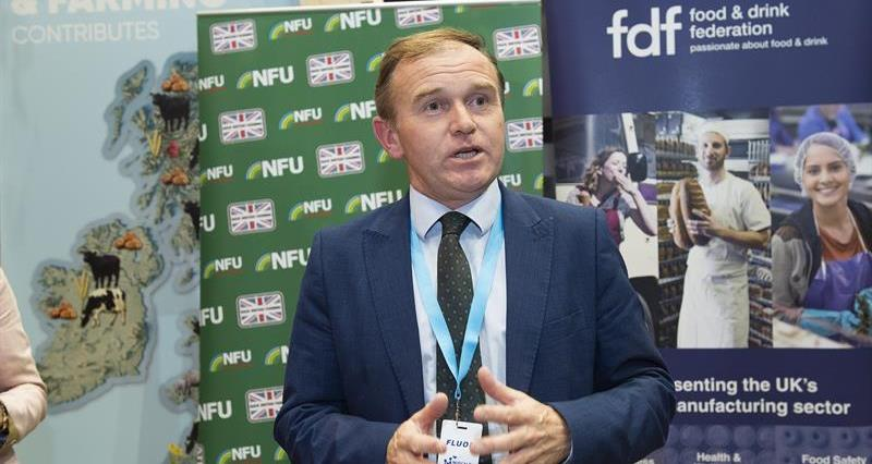 NFU exhibition stand at Conservative party conference, Manchester, September 2019_69293