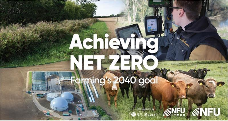 NFU unveils its plan for British farming to deliver net zero