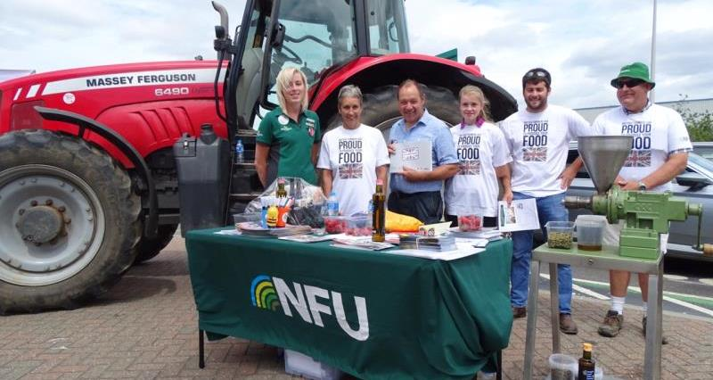 Backing British Farming on Suffolk Food Friday