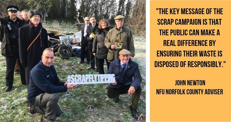 scrap flytipping campaign norfolk brian finnerty_60681